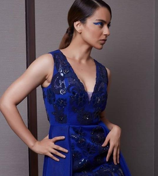 Kangana Ranaut Walks The Ramp For Designers Pankaj And Nidhi At The Lakme Fashion Week The Daily Chakra
