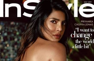 Priyanka Chopra Jonas on the cover of instyle magazine