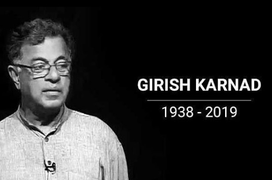 Girish Karnad playwrighter, filmmaker and actor passes away