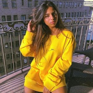 Suhana Khan stuns in this oversized yellow sweatshirt