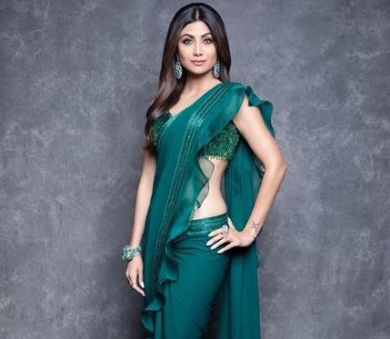 Shilpa Shetty looks elegant in Zara Umrigar's outfit