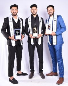 Mr Fabb Winner - Dishant Manhas, Mr Fabb 1 st Runner up – Vedant Dodmani, Mr Fabb 2 nd Runner up – Dev Kukreja