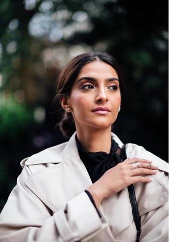 Sonam Kapoor nails this Valentino trench coat