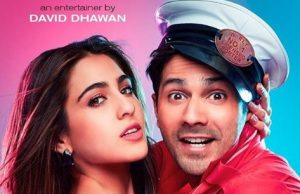 Varun Dhawan and Sara Ali Khan starrer Coolie No 1 first look released