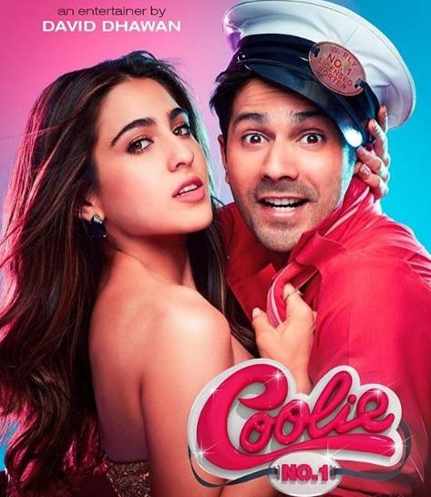Varun Dhawan and Sara Ali Khan starrer Coolie No 1 first look released