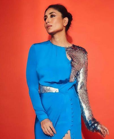 Kareena Kapoor Khan nails this sky blue outfit