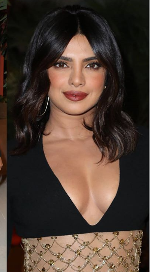 Priyanka Chopra nails this black dress at NYFW