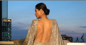 Kareena Kapoor Khan steal the show in backless thigh-slit dress