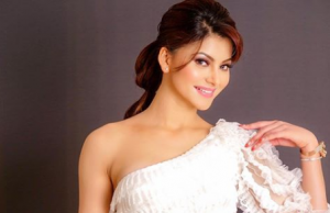 Urvashi Rautela looks pretty in white one-shoulder dress