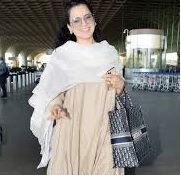 Kangana Ranaut In An Easy-Breezy Airport Look