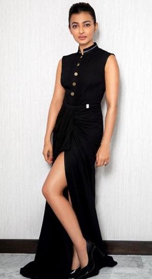 Radhika Apte Looks Elegant In This Indo-Western Look