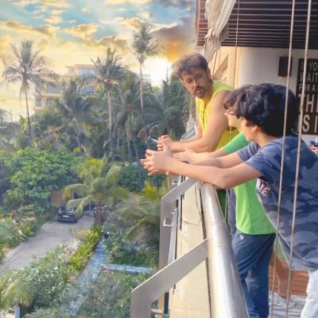 Hrithik Roshan chats with his sons as he enjoys 'Summer of Lockdown' while Sussanne Khan captures them; Watch