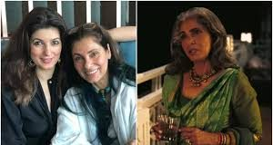 Twinkle Khanna gives a big thumbs up to Dimple Kapadia for Tenet