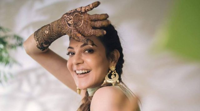 Kajal Aggarwal shares picture from mehendi ceremony