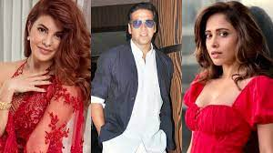 Akshay leaves for Ayodhya with Jacqueline Fernandez and Nushrratt Bharuccha for RamSetu muhurat
