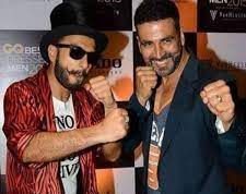 This video of Akshay Kumar and Ranveer Singh dancing together is awesome
